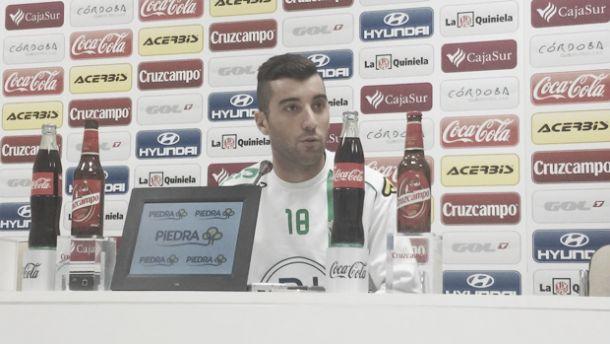 """Borja García: """"Hay ganas de ganar"""""""