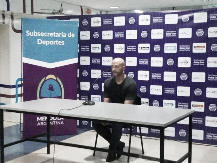 """Méndez: """"Se viene un Godoy Cruz que quiere ganar todo"""""""