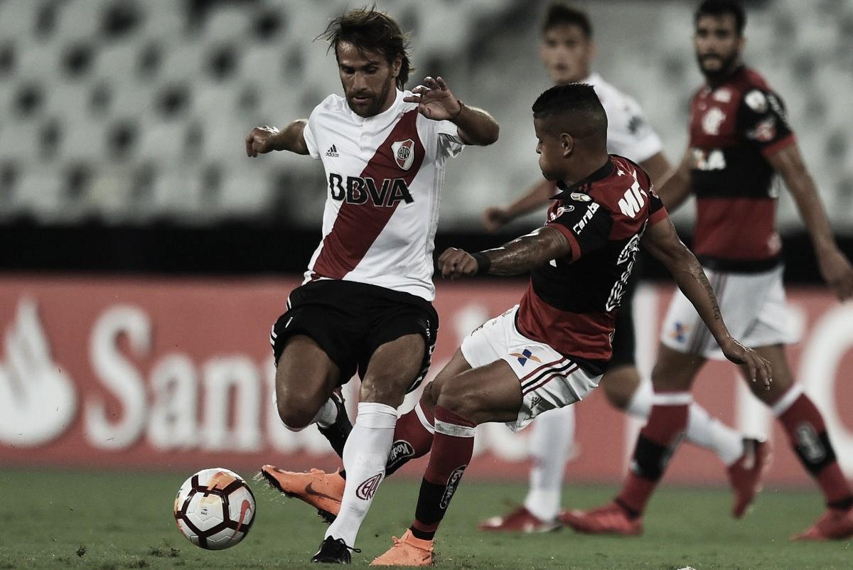 River se trajo un agónico empate en Brasil