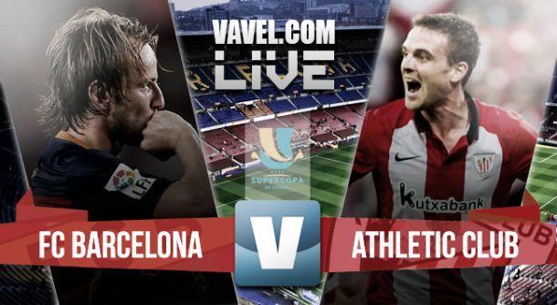 Supercoppa di Spagna: niente remuntada del Barcellona, l'Athletic strappa l'1-1 e si porta la coppa a casa