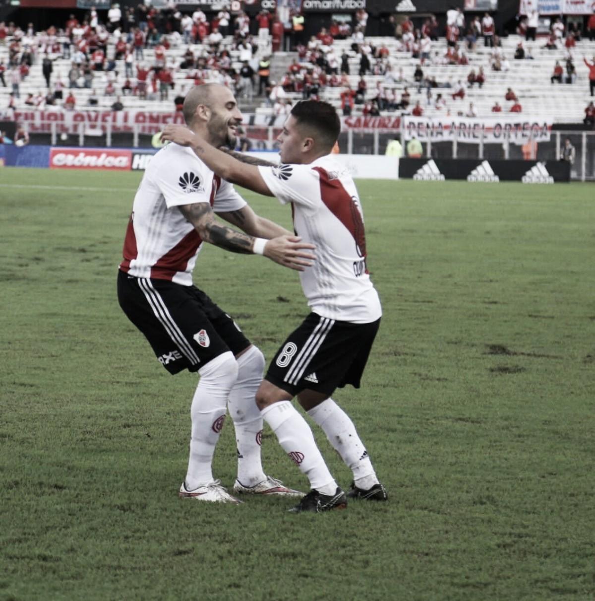 River venció 2 a 0 a Estudiantes en el Monumental