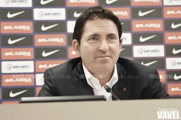 """Xavi Pascual: """"Estamos contentos por hacer más feliz el día del 116 aniversario del club"""""""