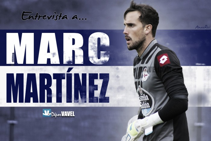 """Entrevista. Marc Martínez: """"Aquí hay un deportivista más"""""""