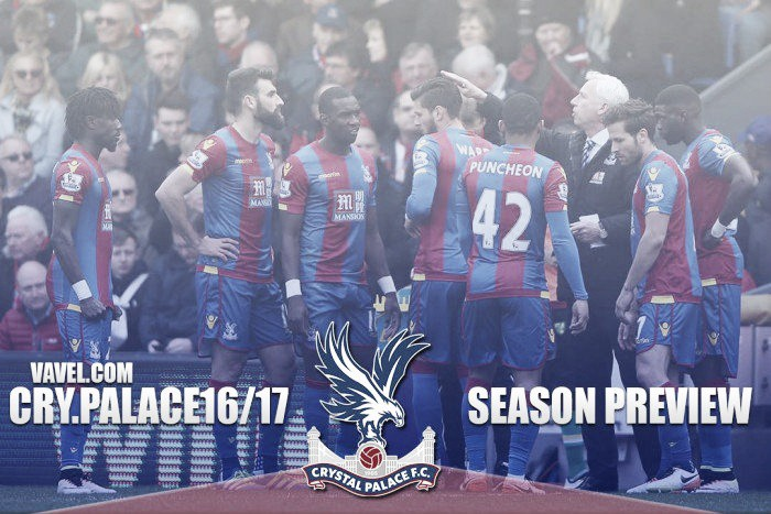 Crystal Palace 2016/17 Season Preview: Will the lack of a goal-scorer be a problem once again for the Eagles?