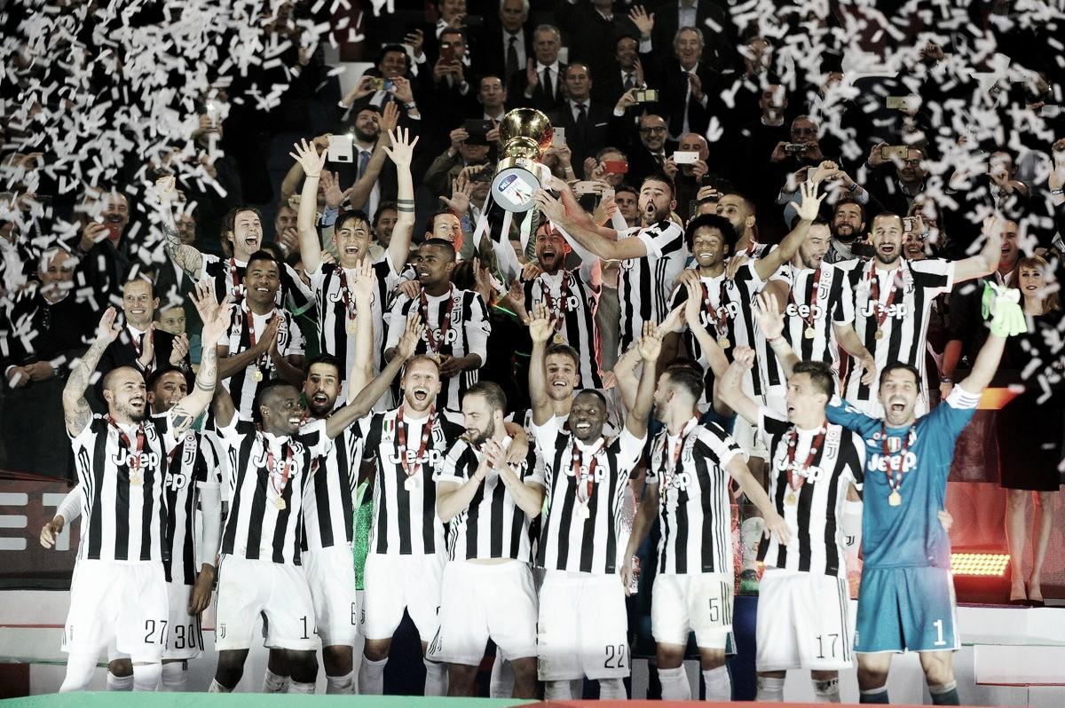 Juventus afirma su dominio ganando la Copa Italia
