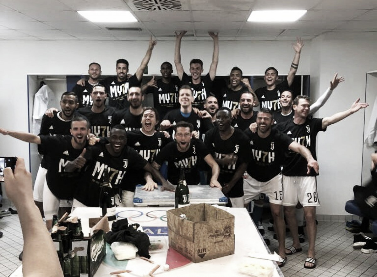 Juventus empata con la Roma y se consagra campeón de la Serie A