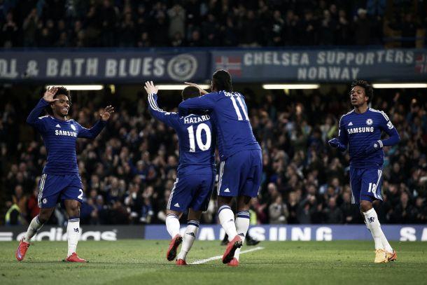 Blues essenziali, magia da centrocampo di Adam: 2-1 tra Chelsea e Stoke
