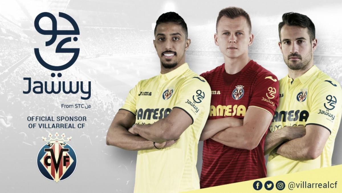 Jawwy, nuevo patrocinador del Villarreal CF