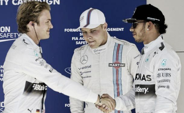 Qualifications : Rosberg devance Hamilton