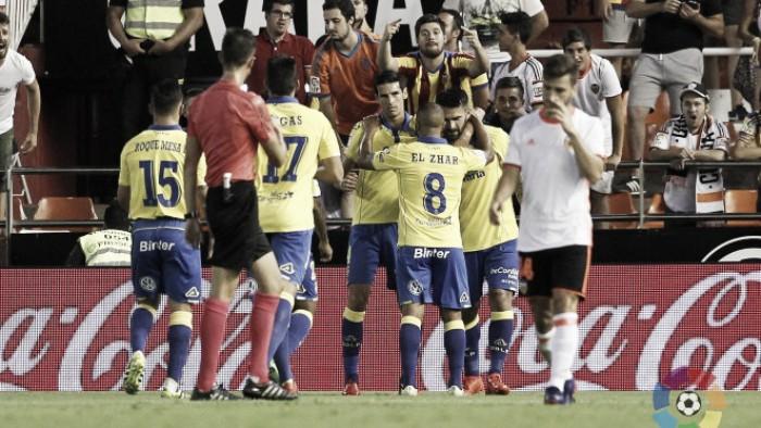 Boateng marca na estreia e Las Palmas bate Valencia fora de casa em jogo de seis gols