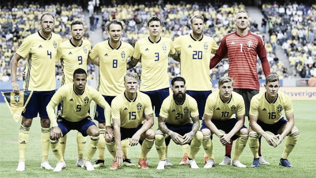 Análisis táctico de Suecia 2018: un equipo duro formado de atrás hacia adelante