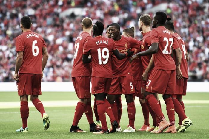 Com um grande poderio ofensivo, Liverpool surge como um candidato forte ao título inglês