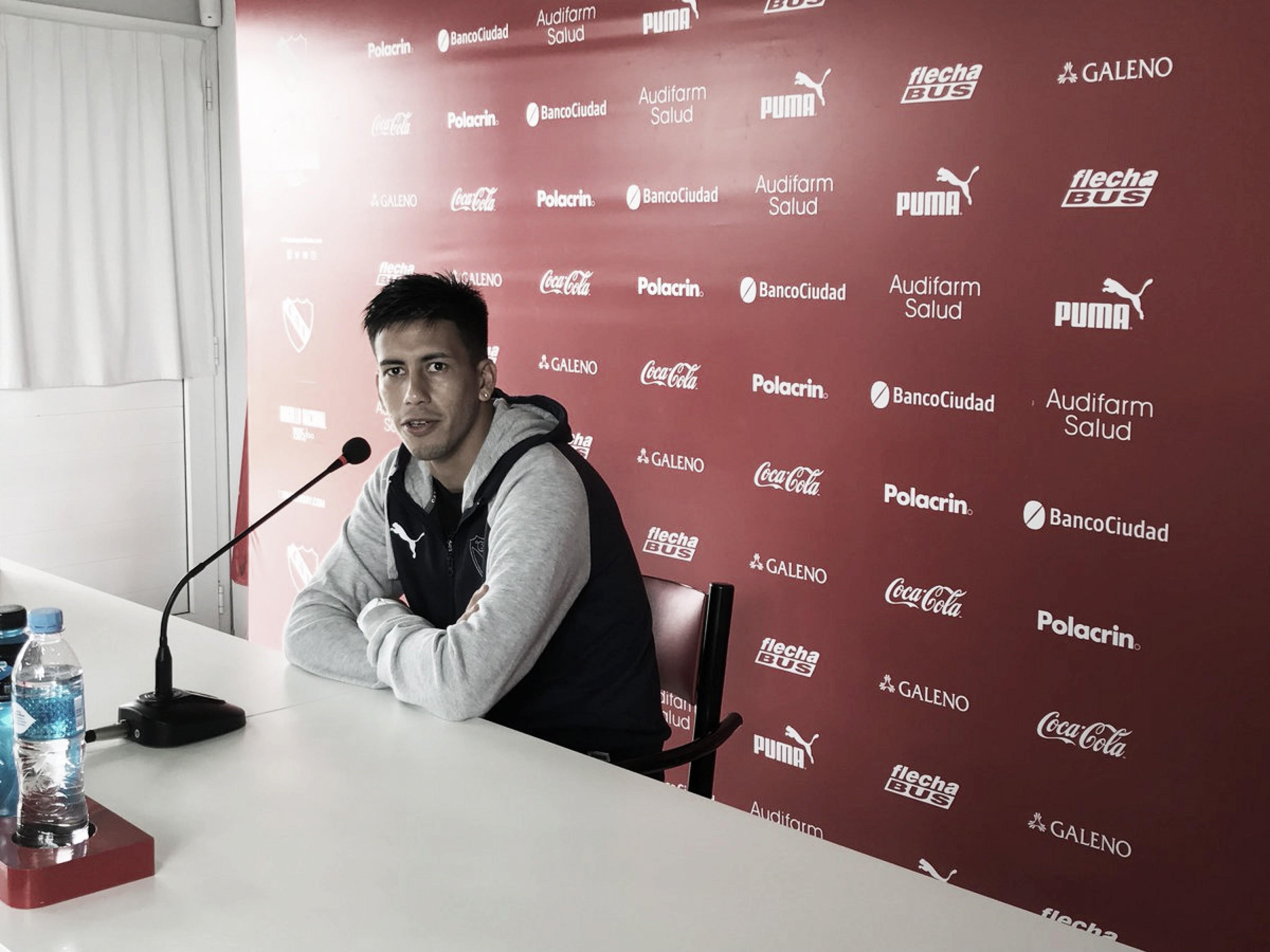 """Meza: """"El favorito es Independiente"""""""
