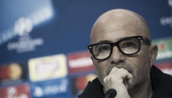 """Sampaoli: """"No especulamos, vamos a por la victoria"""""""
