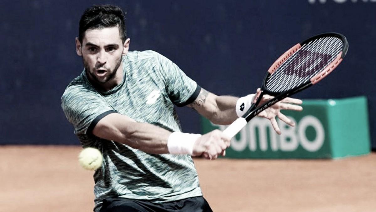 Andreozzi finalista en singles y campeón en dobles