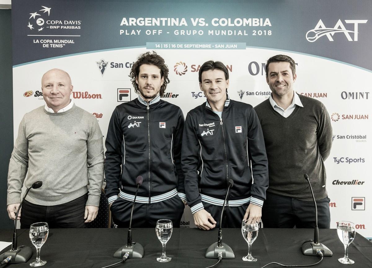 Schwartzman, Pella, Zeballos y González elegidos para el cruce ante Colombia