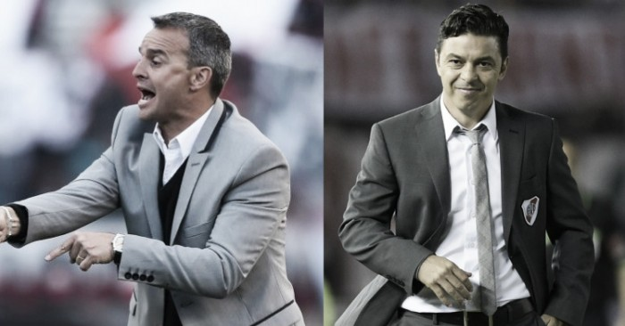 Cara a cara: Pablo Lavallén y Marcelo Gallardo