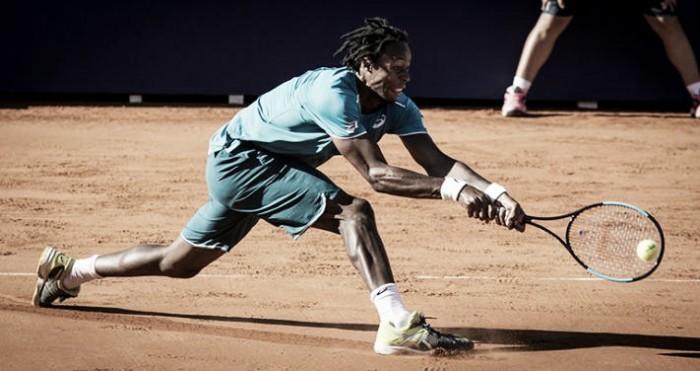 Monfils le hace una caricia al tenis en Buenos Aires