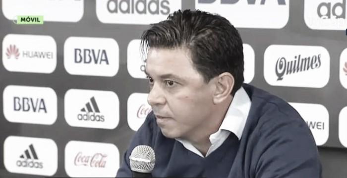 """Marcelo Gallardo: """"Fueron 24 horas difíciles de preocupación e indignación"""""""