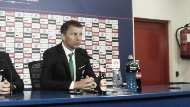 """Djukic: """"Ha sido un partido donde hemos competido a buen nivel"""""""