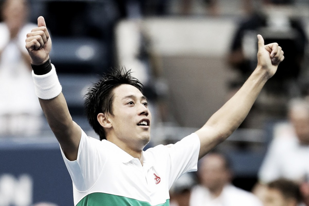 Nishikori con aire de venganza