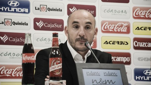 "Albert Ferrer: ""No ha sido el peor partido del Córdoba CF"""