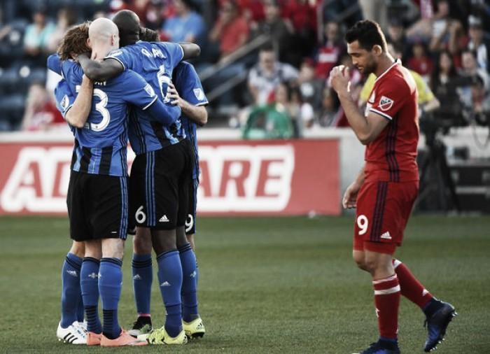 Ignacio Piatti's stoppage time goal gives Montreal Impact 2-1 win over Chicago Fire