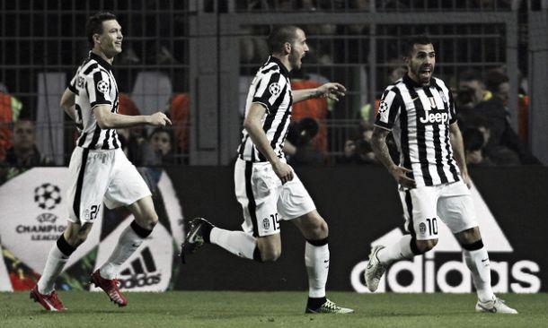 Juventus elimina Borussia Dortmund e segue para a próxima fase