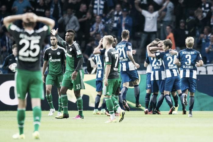 El Hertha aprovecha las indecisiones mineras