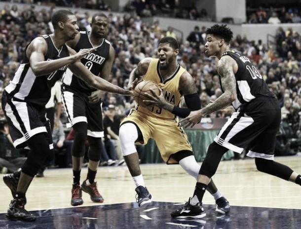 NBA, George ed Ellis domano Miami: i Pacers battono gli Heat 96-83