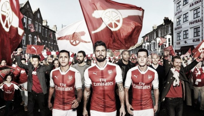 Arsenal launch 2016/17 home kit and shut down Alexis exit rumours in the process