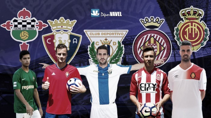 Resumen de los jugadores cedidos por el Deportivo (18 de septiembre)