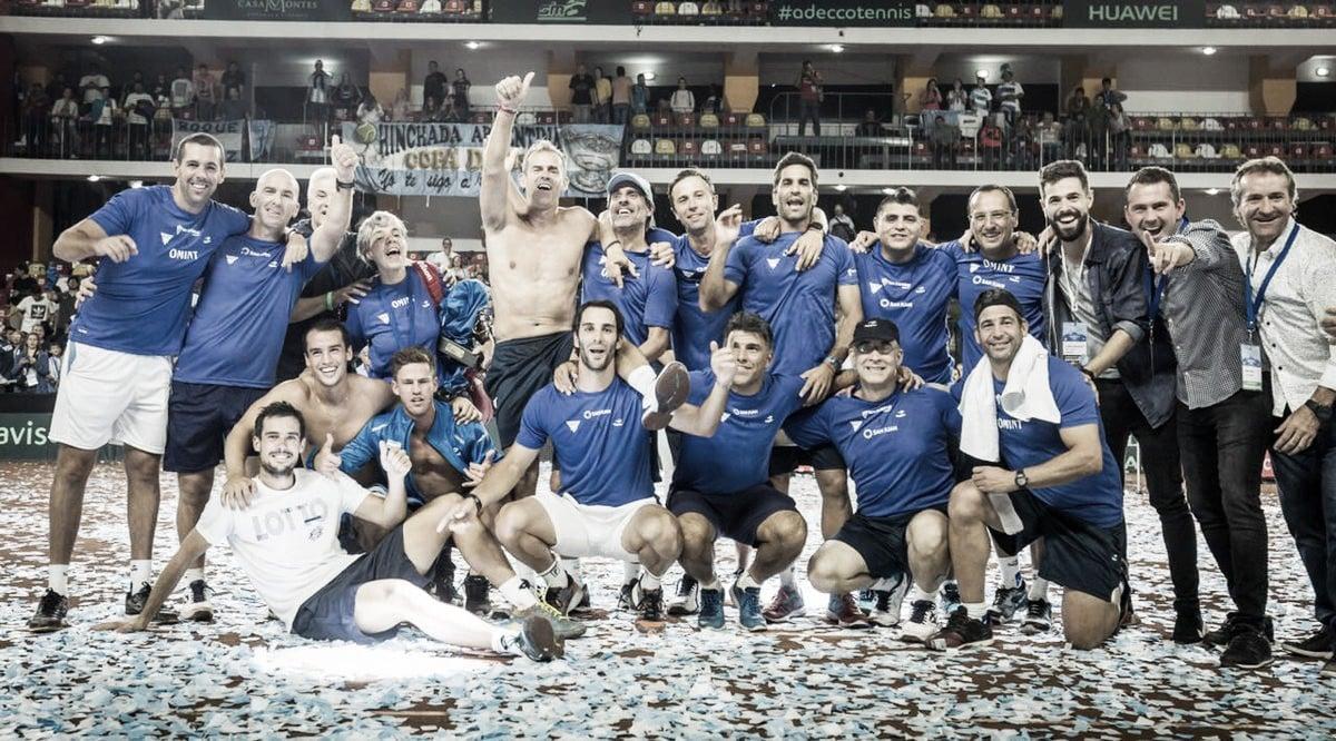 Argentina, con más garra que tenis