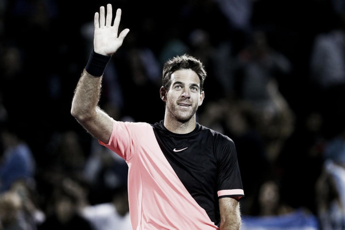 """Del Potro: """"Sufrí mucho para llegar al último tiebreak, donde jugué mi mejor tenis"""""""