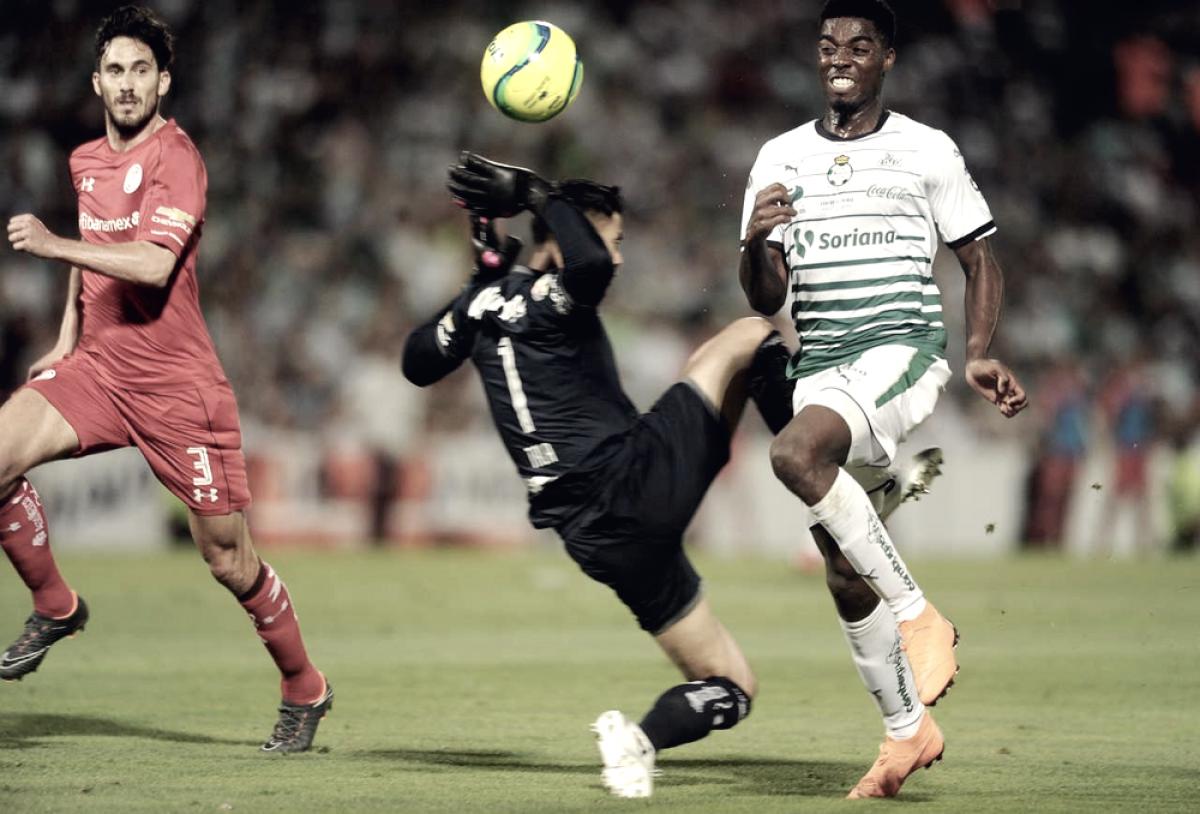¿Podrá Santos atentar contra las estadísticas pintadas de rojo?