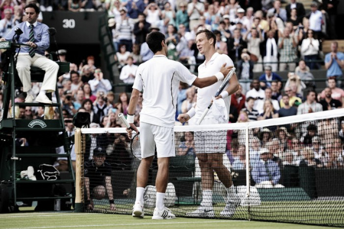 Wimbledon quarterfinal preview: Tomas Berdych vs Novak Djokovic