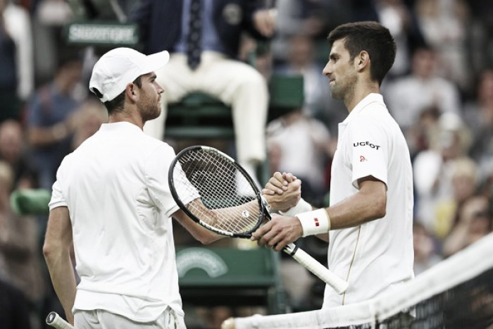 Wimbledon fourth round preview: Adrian Mannarino vs Novak Djokovic