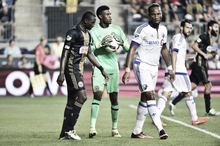 Montreal Impact equalize late to earn draw against Philadelphia Union