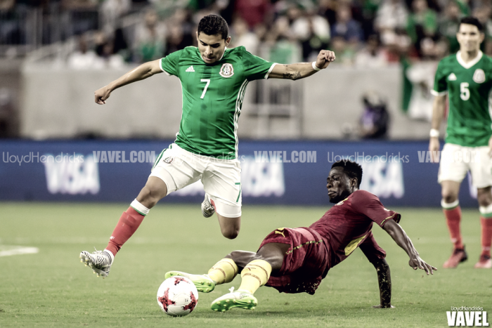 Images and Photos of Mexico 1-0 Ghana in International Friendly