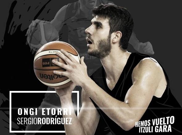 """Entrevista a Sergio Rodríguez: """"El único objetivo que me he marcado es trabajar como el que más"""""""