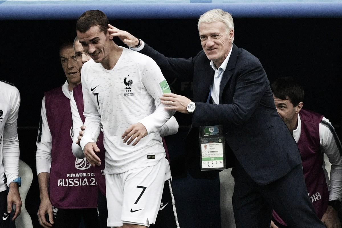 Uruguay-Francia, puntuaciones de Francia, cuartos de final del Mundial Rusia 2018