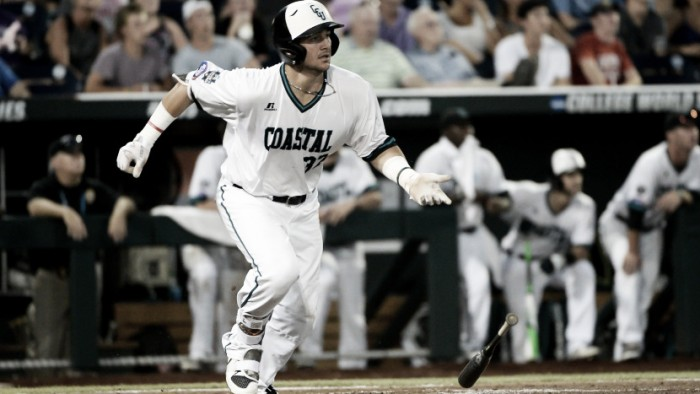 2016 College World Series: Coastal Carolina looking for another upset over Texas Tech in elimination game