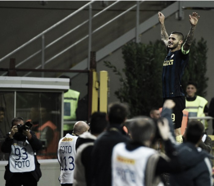 Icardi marca no fim, Inter supera Torino e alivia pressão sobre de Boer