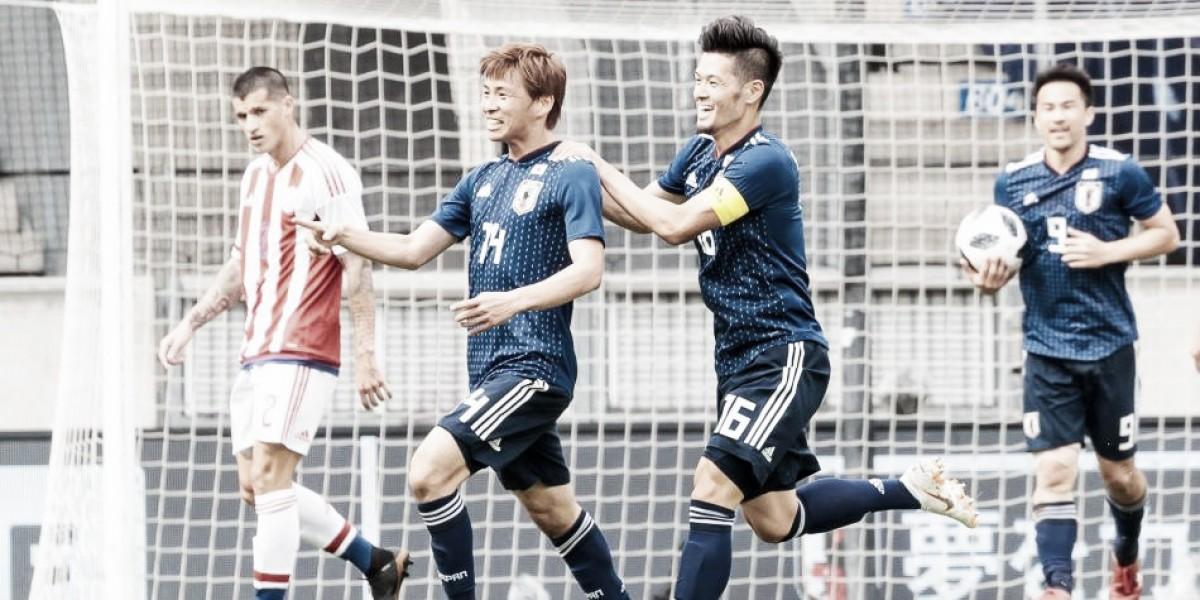 Japón vence a Paraguay en amistoso