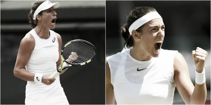 Wimbledon fourth round preview: Johanna Konta vs Caroline Garcia