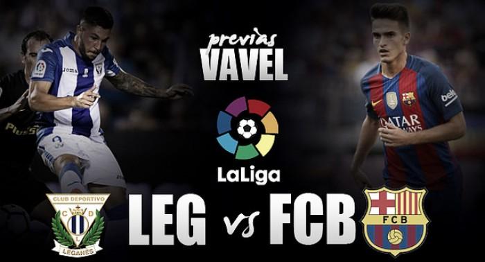 Previa CD Leganés - FC Barcelona: los dioses bajan a Butarque