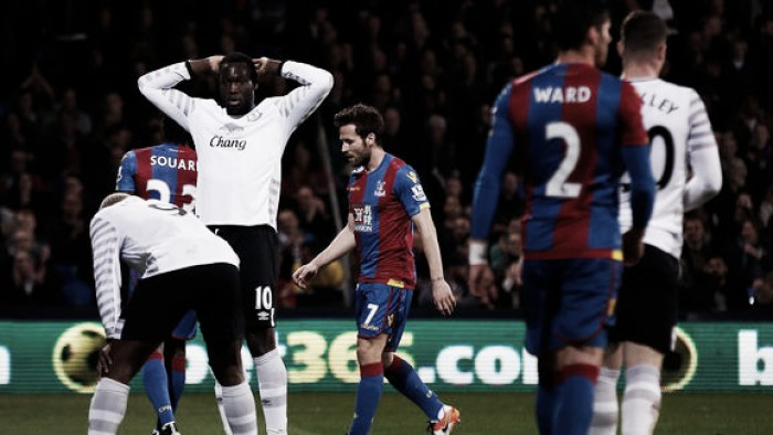 Crystal Palace 0-0 Everton: Eagles squander chances and will be unhappy with draw