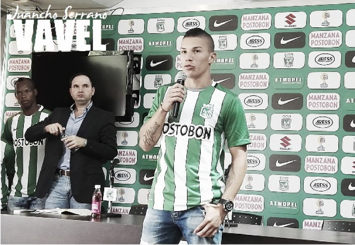 "Matheus Uribe: ""Es un orgullo para cualquier jugador vestir esta camiseta"""