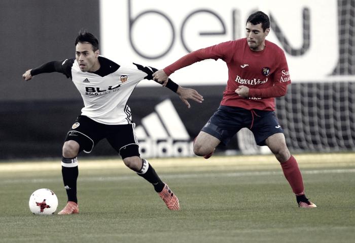El Mestalla se deja dos puntos en el Puchades