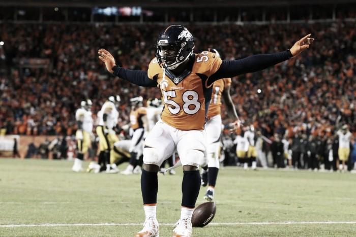 MVP do Super Bowl 50, Von Miller renova com Denver Broncos